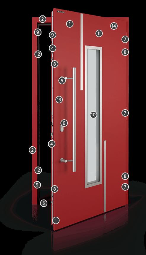 Drzwi NOVA, charakterystyka