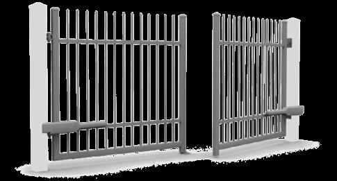 Brama skrzydłowa automatyczna