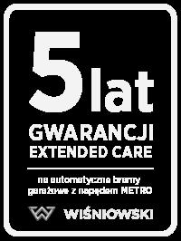 5 lat przedłużonej gwarancji