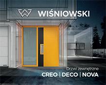 Drzwi zewnętrzne CREO | DECO | NOVA