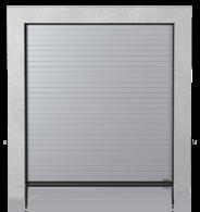 Brama przemysłowa segmentowa z paneli z przetłoczeniem niskim (N)