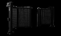 Brama dwuskrzydłowa V-KING z wypełnieniem panelem kratowym Vega 2D Super
