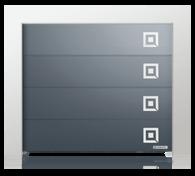 Brama z aplikacjami ozdobnymi