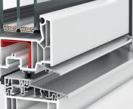 Niski próg aluminiowy