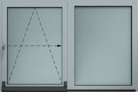 Okno uchylno-przesuwane