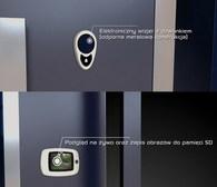 Elektroniczny wizjer z dzwonkiem - podgląd na żywo oraz zapis obrazów do pamięci SD